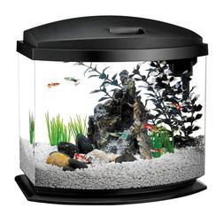LED Starter Kits MiniBow Aquarium With Lighting, 5 Gallon, B