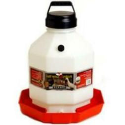Miller Manufacturing 5 gal Red Plastic Poultry Waterer