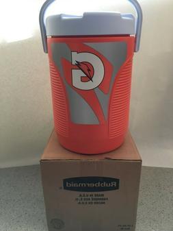 NEW Orange Rubbermaid GATORADE 3 gallon Water Cooler Dispens