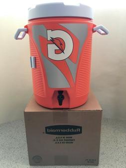 NEW Orange Rubbermaid GATORADE 5 gallon Water Cooler Dispens