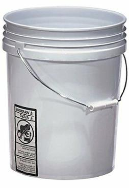 new warner 5 gallon plastic bucket 543