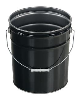 pail stl ri steel open head pail