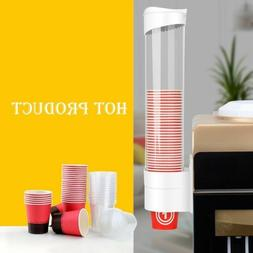 Paper Cup Dispenser Plastic Cups Holder One Touch Button Ant