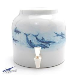Bluewave Paradise of Dolphins Design Beverage Dispenser Croc