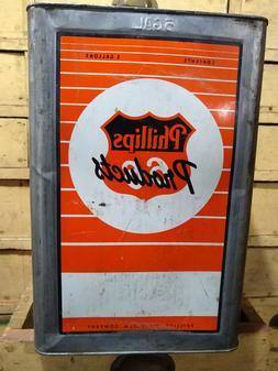 Phillips 66 Vintage 5 Gallon Square Can