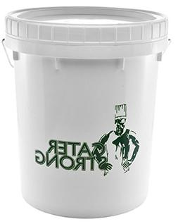 Cater Strong - 5 gal. Round White Plastic Food Storage Conta