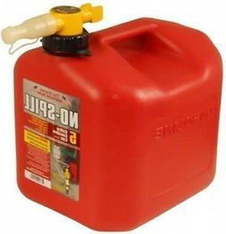 No-Spill 5-Gallon Poly Gas Can  - No-Spill LLC - 1450
