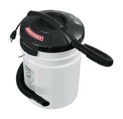 Portable 5-Gallon Bucket 1.75 Peak HP Craftsman Wet/Dry Vacu