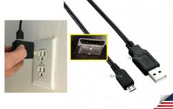 Power Cord Cable + Electric Wall Plug for Hawkeye 360 Fish T
