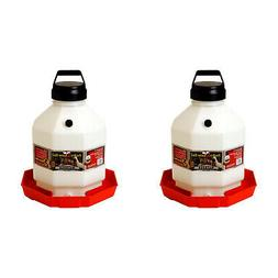 Little Giant PPF5 5 Gallon Automatic Poultry Waterer for Chi
