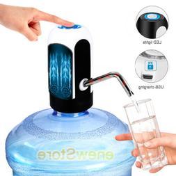 Premium Water Bottle Dispenser Electric Pump USB Charging Au