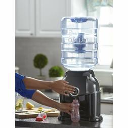 Primo Non-slip Spill-Proof Countertop Black Water Dispenser,