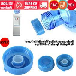 Reusable 5x Non- Gallon Water Cap Jug Bottle Caps Reusable B