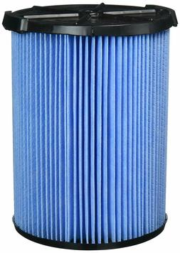 RIGID Shop Vac Filter Reusable 3 Layer Washable 5 Gallon + W