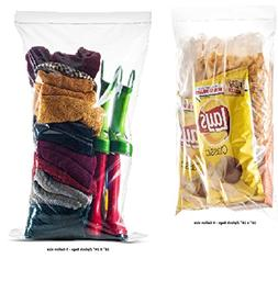 40 Count Extra Large Roaster Food Storage Zip in Lock Bags,