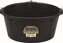 LITTLE GIANT Rubber Feeder Tub with Hooks, 6.5-Gallon
