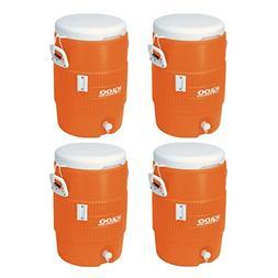 Igloo 5 Gallon Seat Top Beverage Jug with spigot -