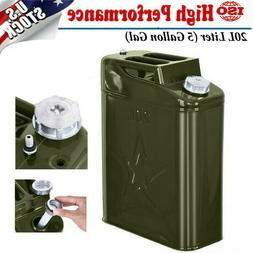 Segewe Jerry Can 5 Gallon Gas Fuel NATO Military Metal Steel