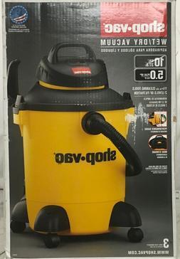 Shop-Vac 10-Gallon 5 HP Wet / Dry Vacuum #61739-39 NEW