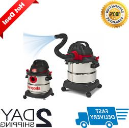 Shop-Vac 5 Gallon 4.5 Peak HP Wet Dry Shop Vacuum Stainless