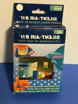 Penn Plax Silent Air B11 Battery Operated Aquarium Air Pump