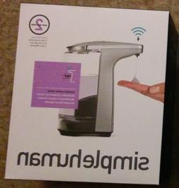 simplehuman Compact Sensor Pump with Soap Sample Brushed Nic