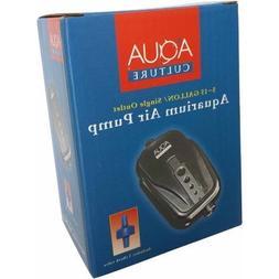 Aqua Culture 5-15 Gallon Single Outlet Aquarium Air Pump