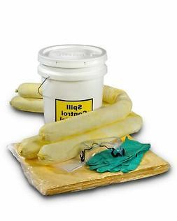ESP SK-H5 16 Piece 5 Gallons Hazmat Absorbent Spill Kit 5 Ga