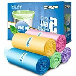 Small Garbage Bags,5 Gallon Trash Can Liners For Office,Home