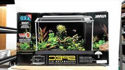Fluval Spec V Aquarium 5 gallon  black  Desktop Glass Aquari