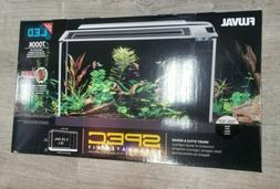 Fluval Spec V Aquarium 5 gallon  black  Desktop Glass Aquari