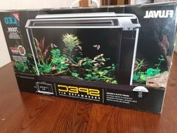 Fluval Spec V Aquarium Kit, 5-Gallon 3 Stage Filtration BLAC