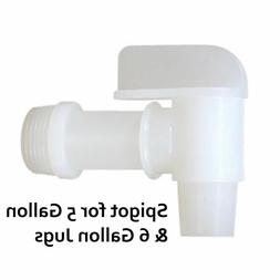Spigot for 6 Gallon GH Containers - Also fits most 5 Gallon