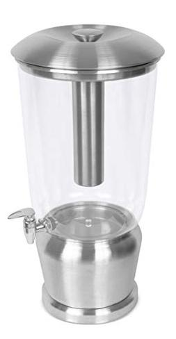BirdRock Home 5 Gallon Stainless Steel Beverage Dispenser wi
