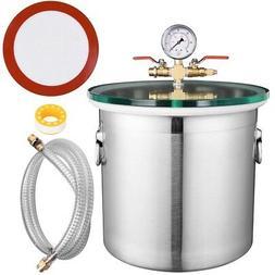 5 Gallon Stainless Steel Vacuum Chamber kit Degassing Uretha