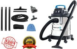 stainless steel wet dry vac 5 gallon
