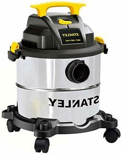 Stanley 5 Gallon Wet Dry Vacuum, 4 Peak HP Stainless Steel 3