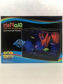 GloFish 3 Gallon Aquarium Kit w/ Cover, Frame, LEDs, Power &