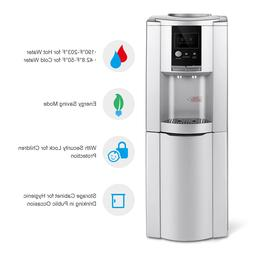 Top Loading Water Cooler Dispenser 5 Gallon W/Safety Lock Ca