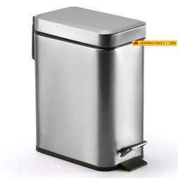 Topgalaxy.Z Kitchen Trash Bin Waste Can 5 Liter/1.32 Gallon