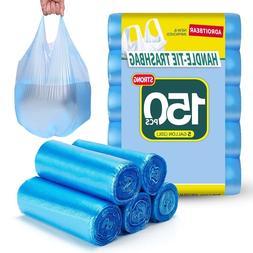 Trash Bags Adroitbear 5 Gallon Kitchen Trash Bags Strong Mat