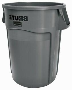 Trash Can,44-Gal Brute Gray