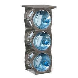 U-STACK Water Bottle Storage Rack - Holds Three 5 Gallon Bot
