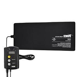 "iPower 8""x18"" Under Tank Heat pad and Digital Thermostat Com"