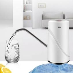 USB Rechargeable Electric Water Drinking Gallon Bottle Dispe