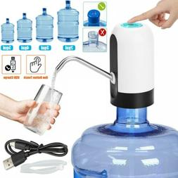 USB Water Bottle Pump Dispenser Automatic 5 Gallon Universal