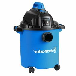 Vacmaster 12 Gallon, 5 Peak HP, Wet/Dry Vacuum with Detachab