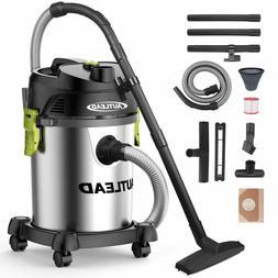 AUTLEAD Vacuums 5 Gallon 1200W Pure Copper Motor 5.5 HP Wet/