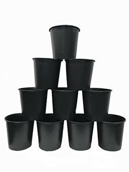 Viagrow VHPP500-10 5 gallon Round Nursery Pot, 10 Pack