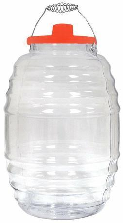 Vitrolero Plastic Aguas Frescas 5 Gallon Water Container For